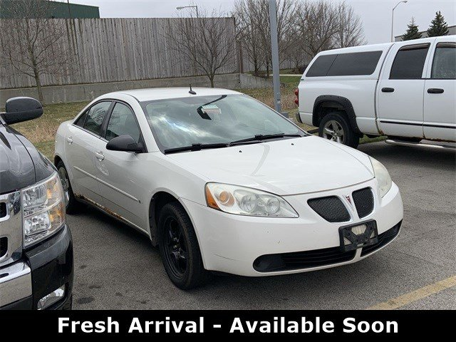 Bank Bloq Van Design On Stock.Pre Owned 2008 Pontiac G6 Base Fwd Sedan