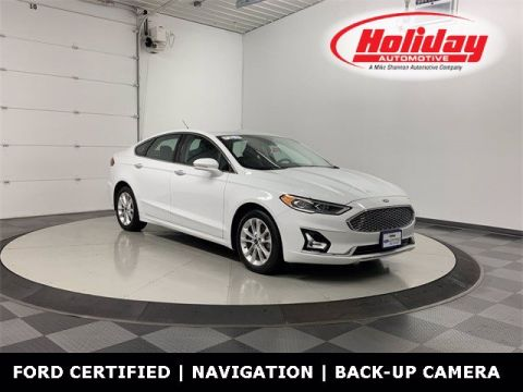 Pre-Owned 2019 Ford Fusion Energi Titanium FWD Sedan